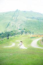 京都から車で40分 琵琶湖が一望できる琵琶湖バレイでフォトウェディング