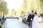 京都市前撮りロケーション撮影【嵐山 白川】