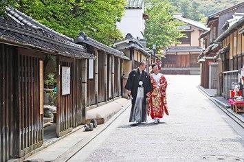 滋賀から京都にフォトウェディングでお越しいただきました