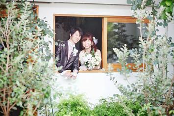 京都 ウェディングドレスでスタジオ撮影
