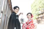 [和装ロケーションプラン]福井県から結婚前撮りで京都へ