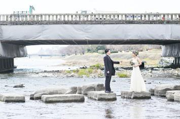 [洋装ロケーションプラン]京都で結婚式の前撮り