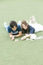[思い出ロケと和装ロケ]滋賀県より結婚前撮りでお越しいただきました