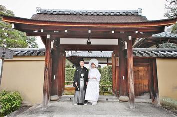 [和装ロケーション]大徳寺瑞峯院で結婚式の前撮り