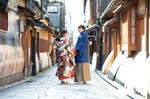 [和装洋装ロケーション]高知県から京都へフォトウエディング旅行