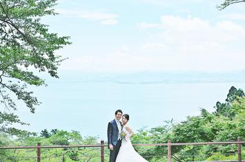 [洋装ロケーション]京都から琵琶湖へ前撮りに行ってきました