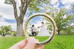 [洋装ロケーション]撮影グッズで楽しく結婚前撮り