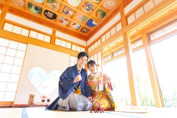[和装ロケーション]正寿院と毘沙門堂で結婚の前撮り