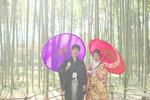[和装ロケーション]秋の嵐山で結婚前撮り