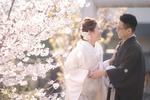 [和装ロケーション]アメリカから結婚式の前撮りで来日
