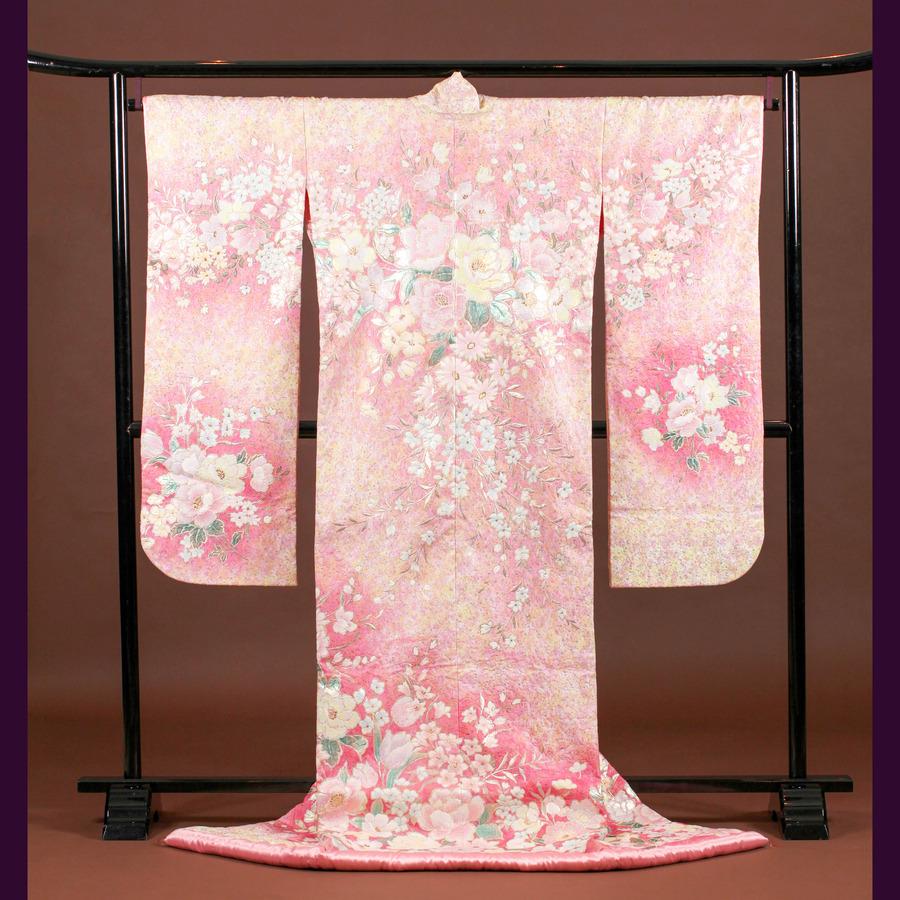 和装 色打掛 1517 結婚式や前撮りでオススメの可愛いピンクの打掛