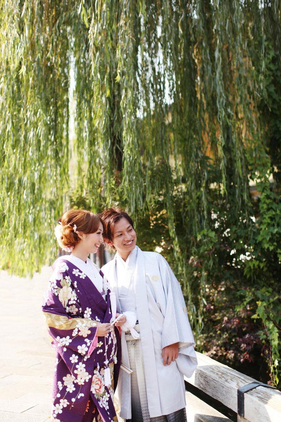 風情のある祇園でロケーション撮影【京都府京都市】