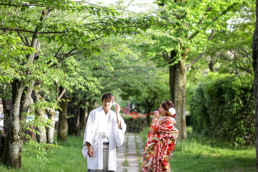 新緑の京都岡崎公園