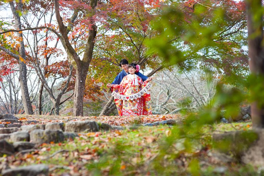 紅葉シーズンの嵐山