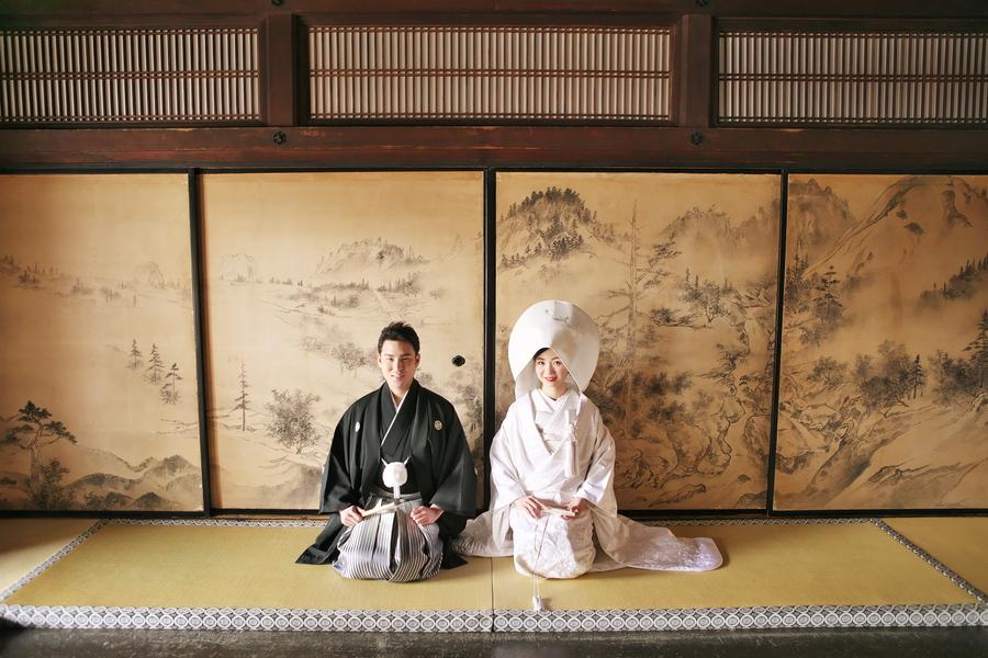 京都で出張和装撮影