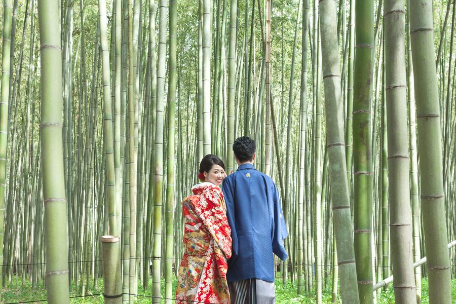 嵐山竹林ロケ