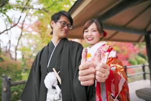 結婚指輪と婚約指輪の可愛い写真