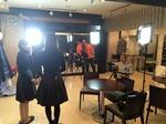 滋賀県彦根市にある本店でテレビの取材が入りました