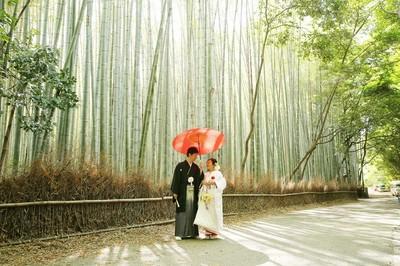 [ポイント]京都嵐山で前撮りのご紹介
