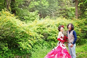 [おすすめ]新緑シーズンの京都フォトウェディング