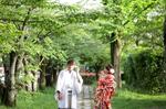 [おすすめ]新緑シーズンの京都ロケーションフォトウエディング