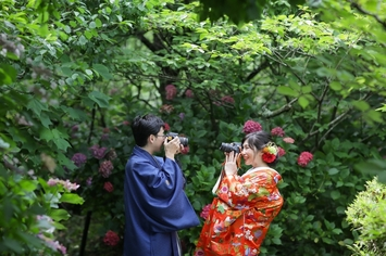 [6月10日から6月30日限定]紫陽花フォトウェディングプラン