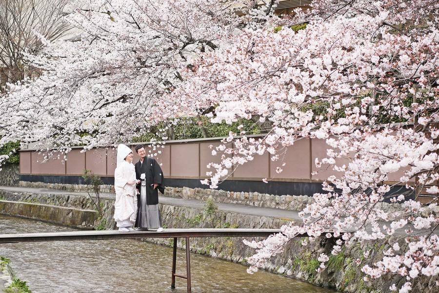 京都結婚の前撮り